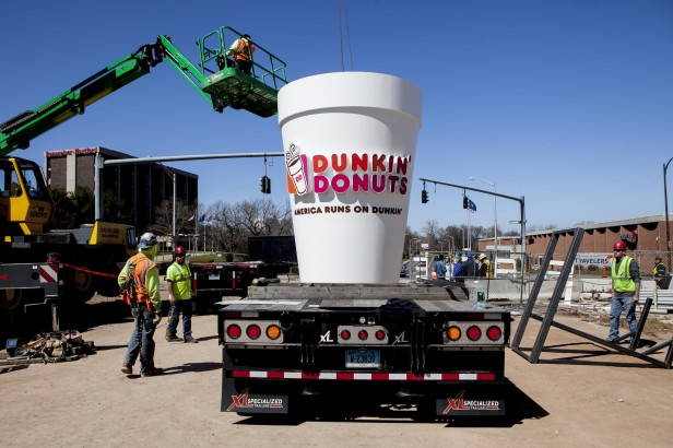 hc-giant-dunkin-donuts-cup-raised-at-yard-goats-stadium-20160415.jpg