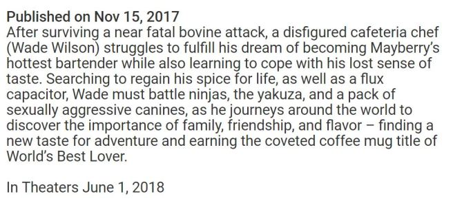 Deadpool description